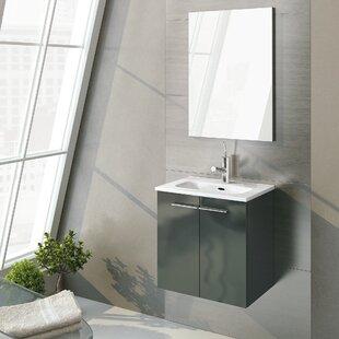 Affordable Kowal 20 Single Bathroom Vanity Set with Mirror ByOrren Ellis