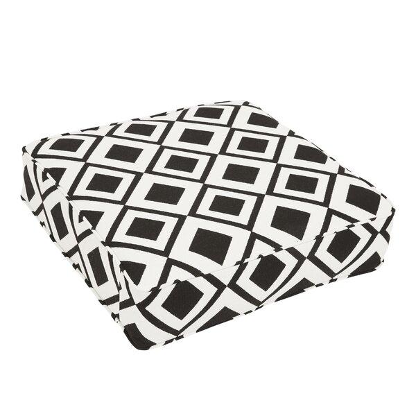 Bartsch Savvy Onyx Square Indoor/Outdoor Floor Pillow by Brayden Studio
