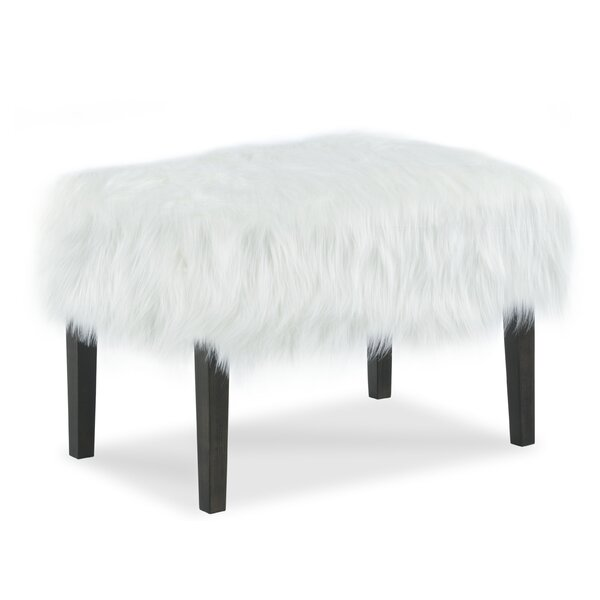 Furry Ottoman by Fairfield Chair