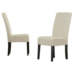 merrin tstitch upholstered dining chair set of 2