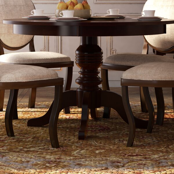 Freeport Solid Wood Dining Table by Astoria Grand