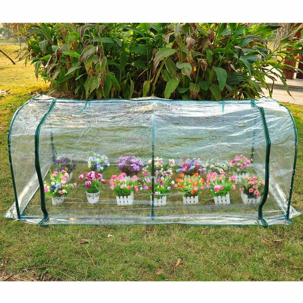 7 Ft. W x 3 Ft. D Mini Greenhouse by Outsunny