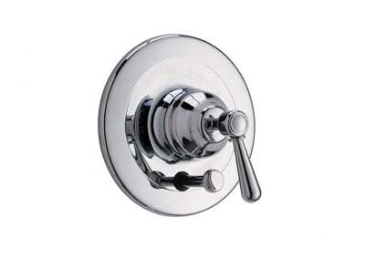 Pressure Balance with Metal Lever and Diverter in Polished Chrome by Rohl