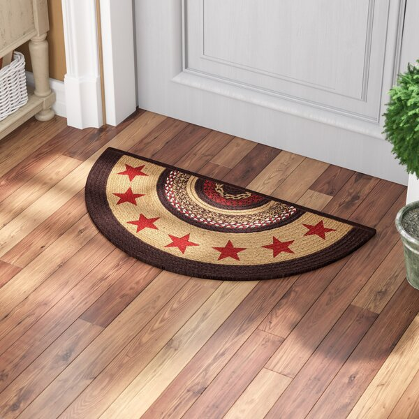 Juliana Brown/Red Area Rug by August Grove