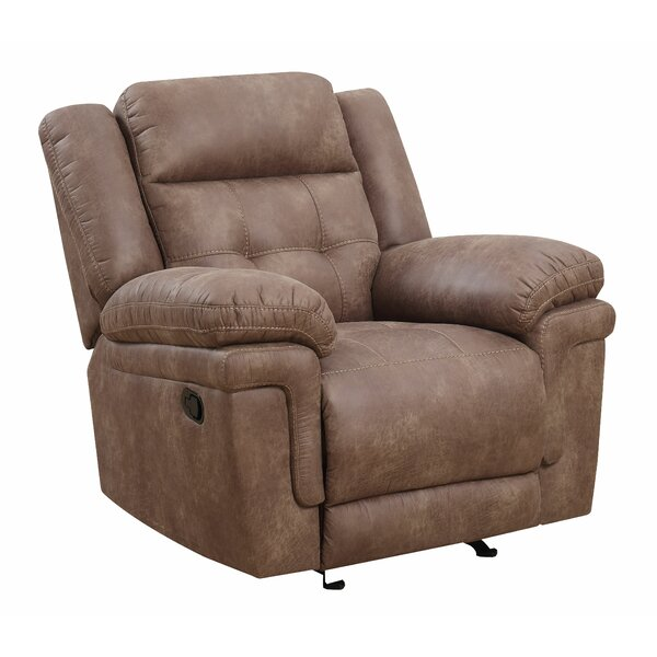 Rancourt Manual Recline Glider Recliner [Red Barrel Studio]