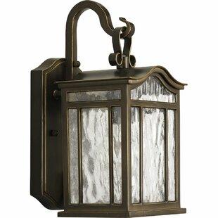 Read Reviews Triplehorn 1-Light Wall European Lantern By Alcott Hill