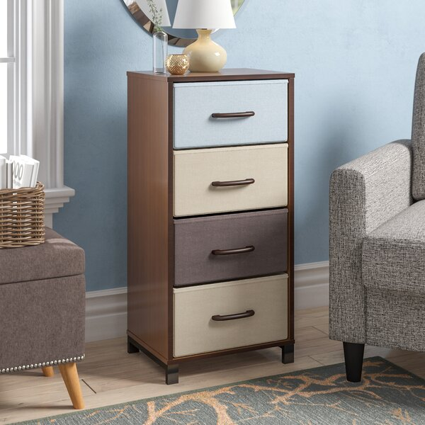 Casiano Storage Stand 4 Drawer Accent Chest by Rebrilliant