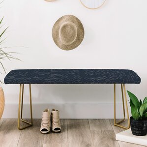 Florent Bodart Faux Leather Bench by East Urban Home