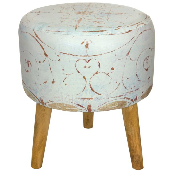 Winter Peace Stool by Oriental Furniture