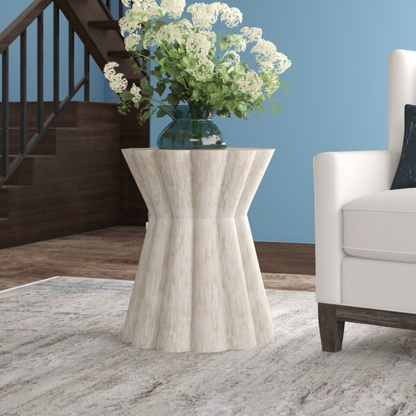 Annie Block End Table By Gabby