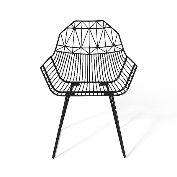 Syd Stacking Patio Dining Chair by Wrought Studio