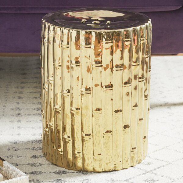 Bowen Ceramic Garden Stool by Mistana