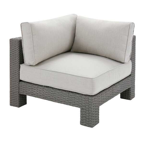 Danaher Outdoor Corner Chair with Cushion by Latitude Run