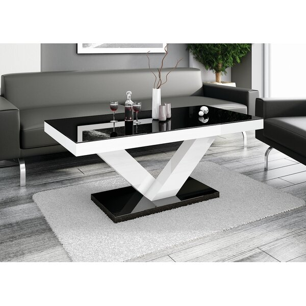 Wokingham Pedestal Coffee Table by Orren Ellis Orren Ellis