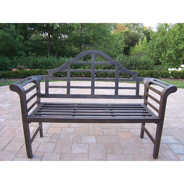 King Louis Aluminum Garden Bench by Oakland Living