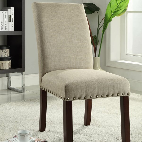 Obryan Parsons Upholstered Dining Chair (Set of 2) by Alcott Hill