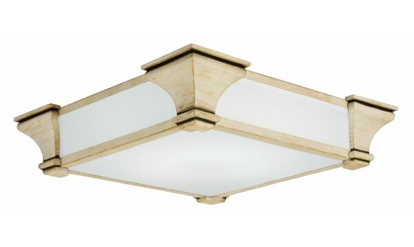 Venetian 1 Light Flush Mount by Lithonia Lighting