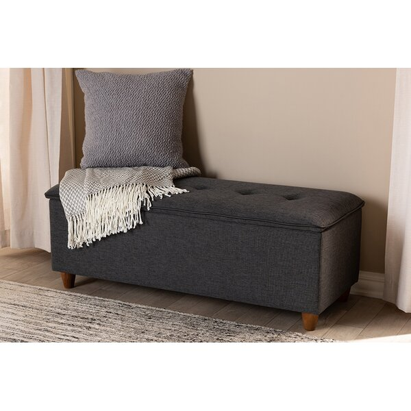 Seamon Upholstered Stoarge Bench By Alcott Hill