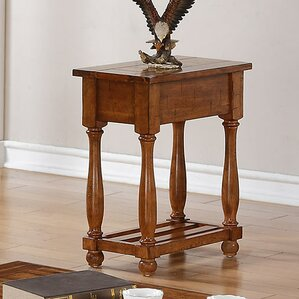 Lookout Chairside Table by Loon Peak