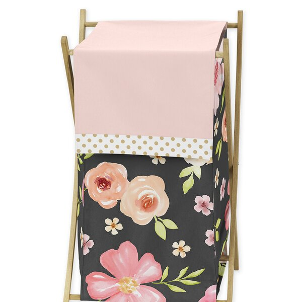 Watercolor Floral Laundry Hamper by Sweet Jojo Designs