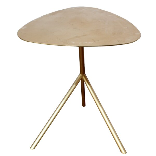 Adsett Tripod Leaf End Table by Corrigan Studio Corrigan Studio