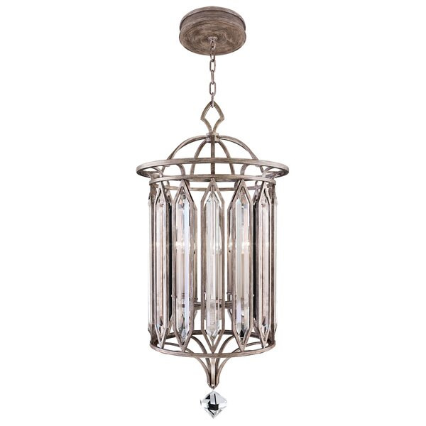Westminster 8 - Light Unique / Statement Geometric Chandelier By Fine Art Lamps