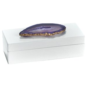 Agate Lacquered Jewelry Box by Mercer41