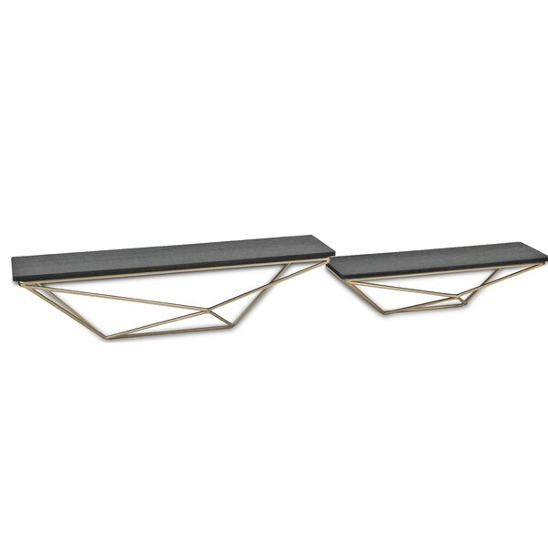 Royce 2 Piece Wall Shelf Set by Wrought Studio