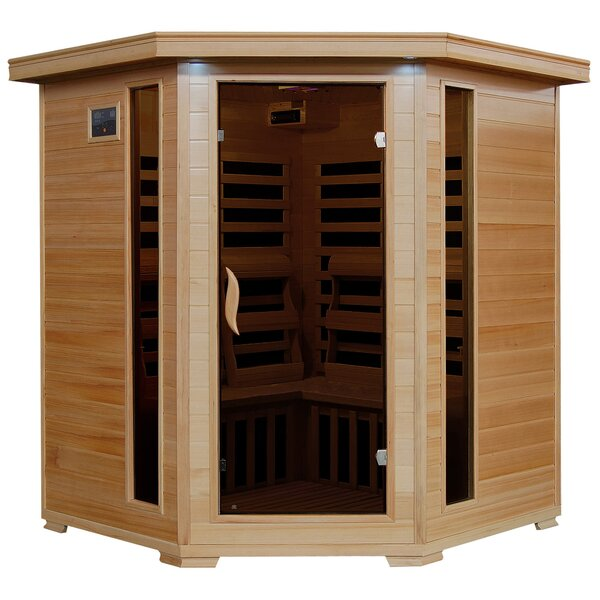 Patterson 4 Person FAR Infrared Sauna by Radiant Saunas