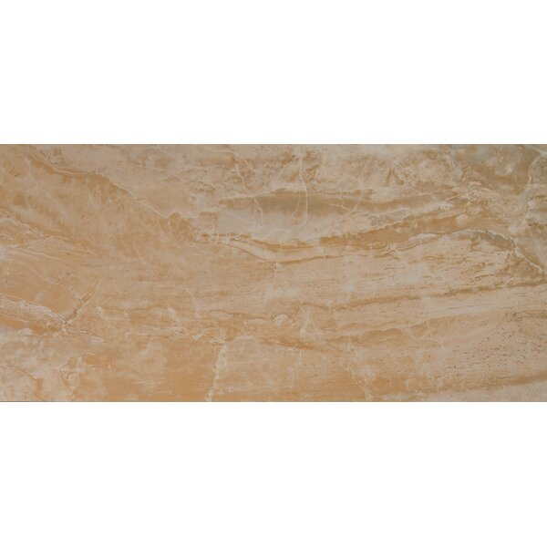 Onyx 16 x 32 Porcelain Field Tile in Beige by MSI