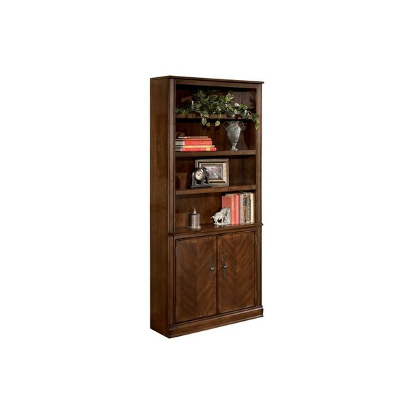 Segal Wooden Standard Bookcase By Darby Home Co