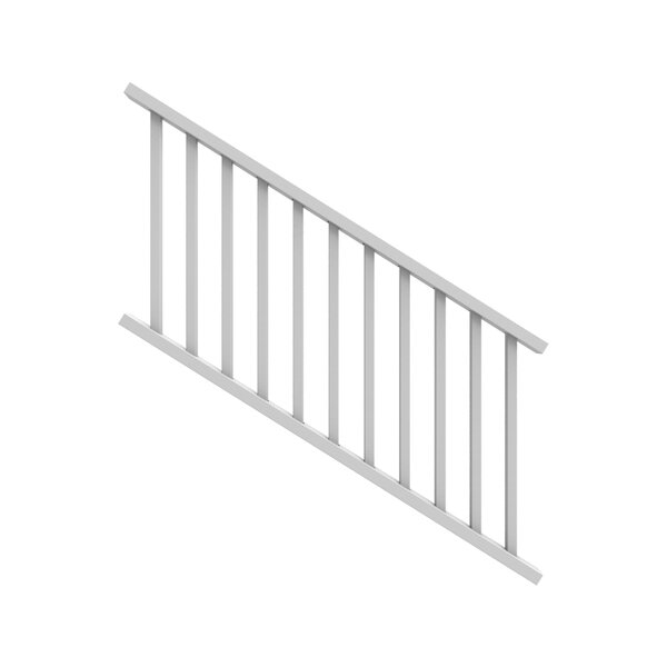 3 ft. H x 5.5 ft. W Stair Railing by Xpanse Select Vinyl Railing
