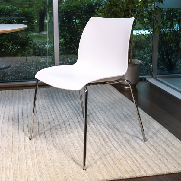 Amazonia Stackable Dining Chair (Set of 4) by Orren Ellis