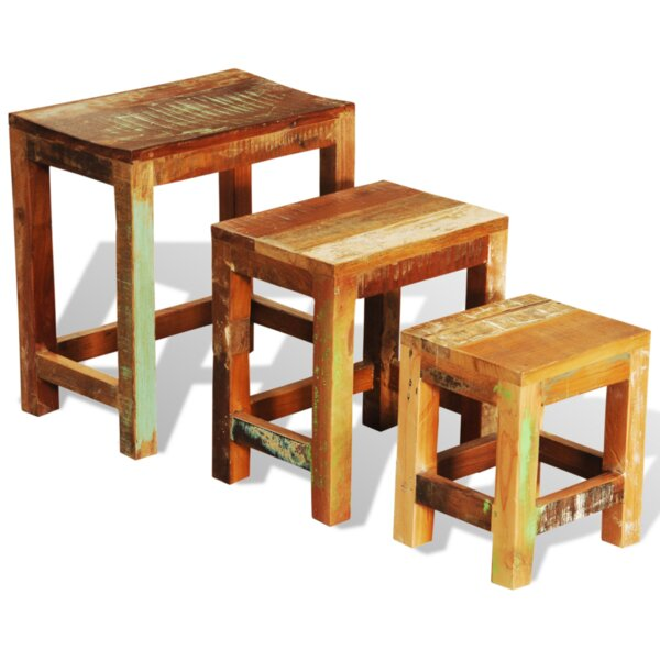 Gillman 3 Piece Nesting Tables By World Menagerie