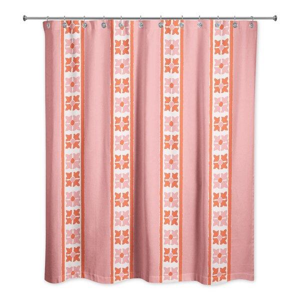 Hanchett Stripe Shower Curtain by Red Barrel Studio