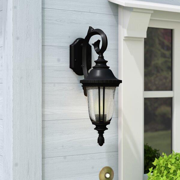Bowe 1-Light Outdoor Wall Lantern by Three Posts