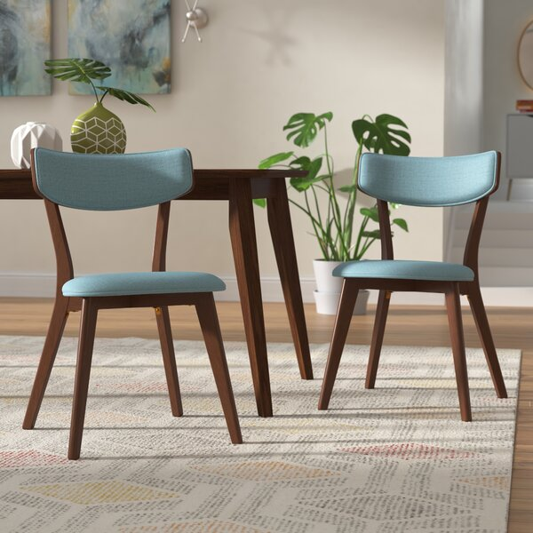 Putnam Upholstered Dining Chair (Set of 2) by George Oliver
