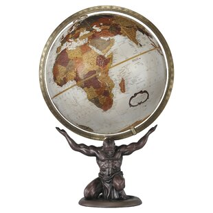 Globe accents youll love wayfair atlas world globe gumiabroncs
