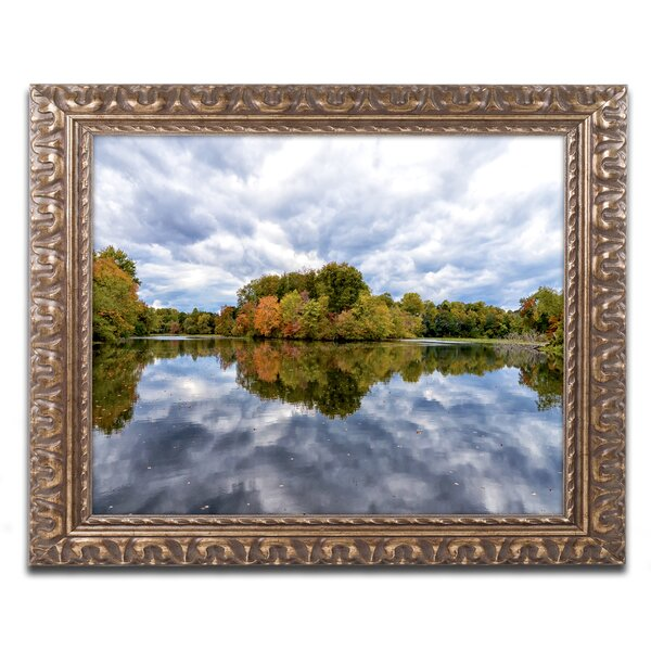 Autumn Reflections Framed Photographic Print by Trademark Fine Art