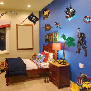 Colorful Pirate Wall Decal