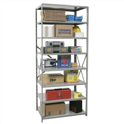 Hi-Tech Open Type 7 Shelf Shelving Unit Starter by Hallowell
