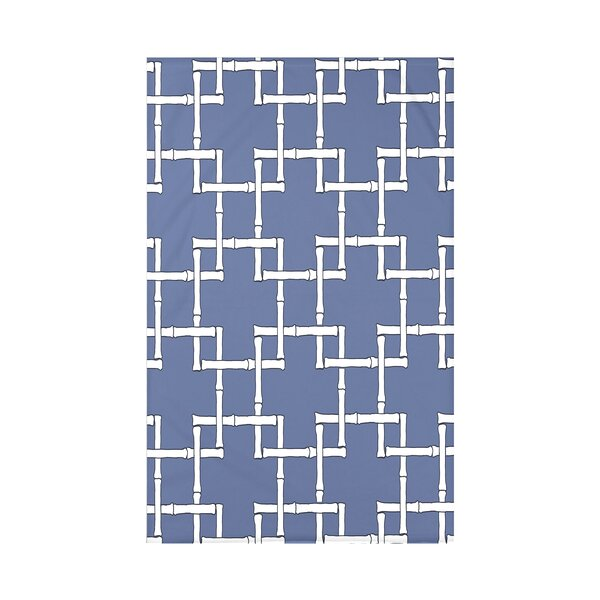 Connelly Bamboo 1 Geometric Fleece Throw by Bay Isle Home