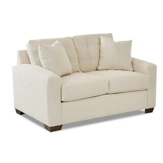 Alanna Loveseat by Wayfair Custom Upholstery๏ฟฝ SKU:BC147142 Description