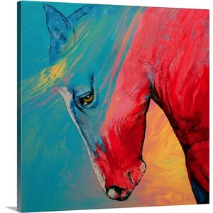 Painted Horse by Michael Creese Painting Print on Canvas by Canvas On Demand