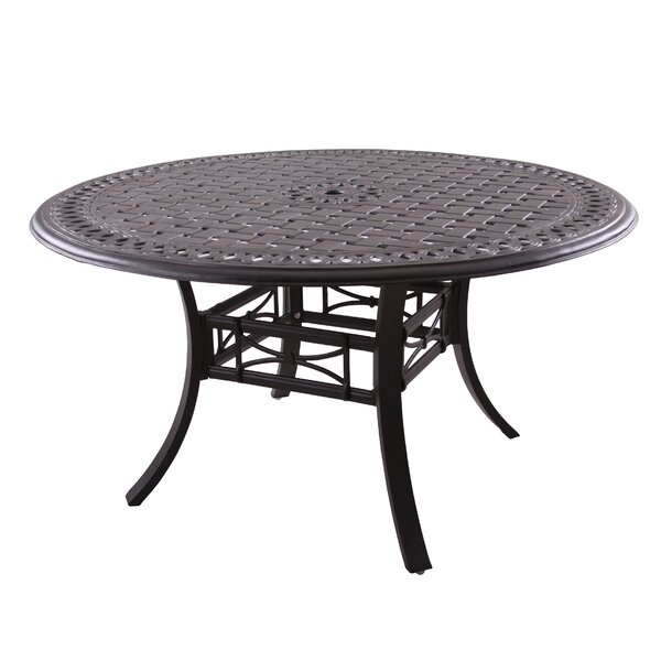 Greenwald Metal Frame Dining Table by Darby Home Co