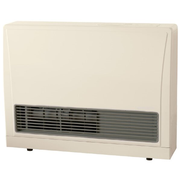 C Series Direct Vent Natural Gas Fan Wall Mounted Panel Heater By Rinnai