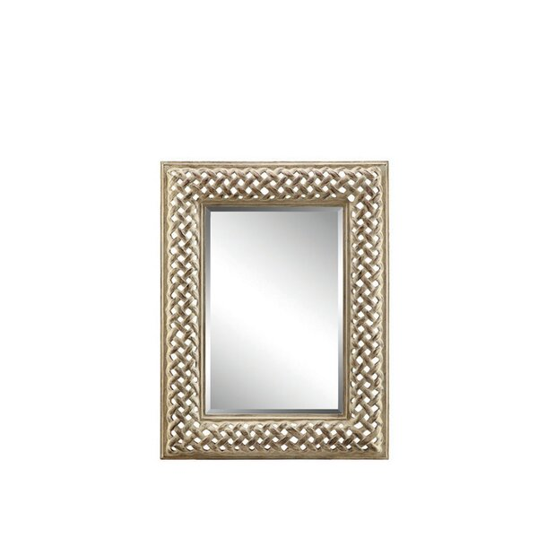 Sander Rectangle Wall Mirror by Bloomsbury Market