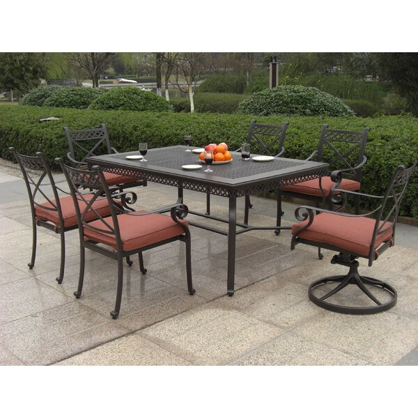 Bar Harbor 7 Piece Dining Set by California Outdoor Designs