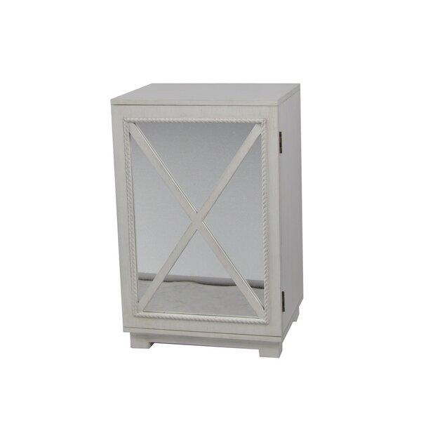 Criss-cross Door Accent Cabinet by Lamps Per Se