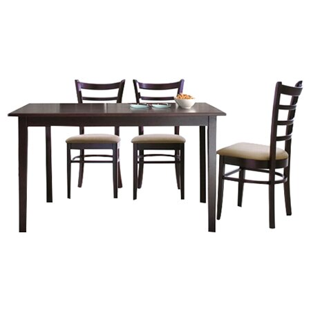 Baxton Studio Keitaro 5 Piece Dining Set by Wholesale Interiors